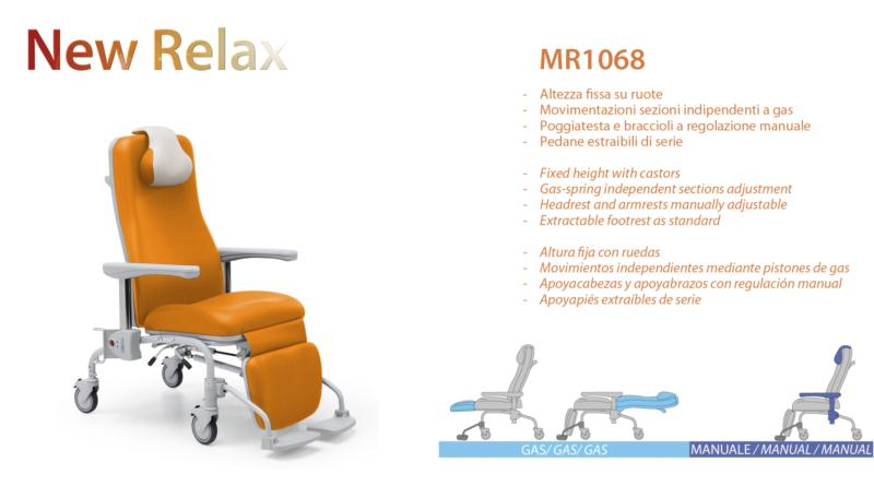 New Relax Poltrone.New Relax Free Armchair Fixed Height Independent Sections